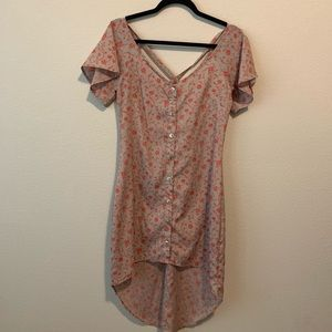 Solemio Dress size small Womens Floral/grey  G40